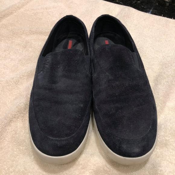 Prada Shoes   Mens Prada Slip On